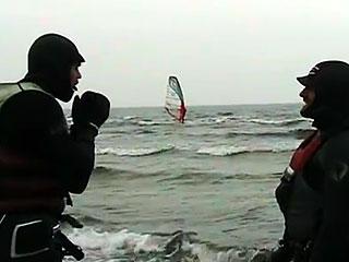 Windsurfing for de seje drenge