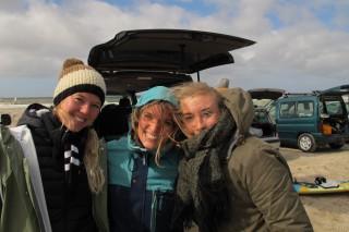 3 piger til wave:freestylecamp